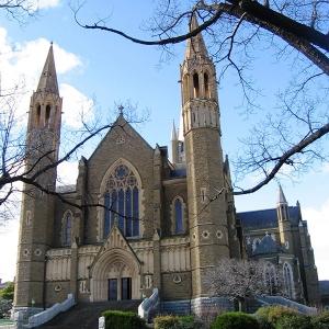 Собор Святейшего Сердца Иисуса, 1895 - 1977 гг., Бендиго (Австралия)