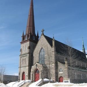 Собор Святейшего Сердца Иисуса, 1888 - 1896 гг., Батерст (Канада)