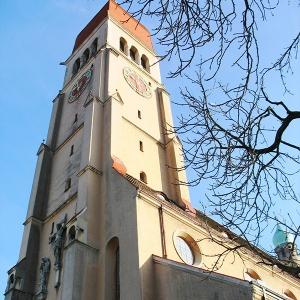 Церковь Святейшего Сердца Иисуса, 1910 г., Аугсбург (Германия)