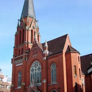 Церковь Святейшего Сердца Иисуса, 1911 г., Бремерхафен (Германия)