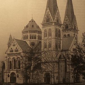 Herz-Jesu-Kirche, 1900 - 1903 гг., Кобленц (Германия)