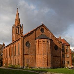 Церковь Святейшего Сердца Иисуса, XIII век, Слупск (Польша)